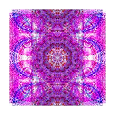 As Far As You Can Think In Pink-Alaya Gadeh-Art Print