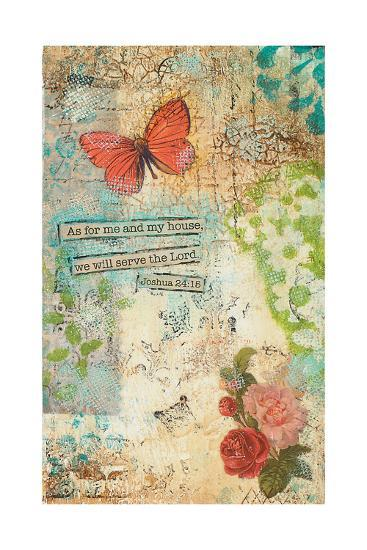 As for Me and My House-Cassandra Cushman-Art Print