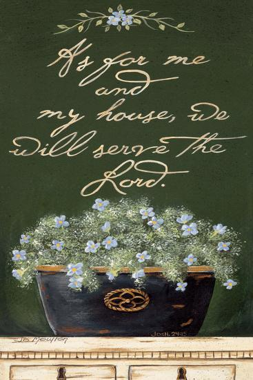 As for Me and My House-Jo Moulton-Art Print
