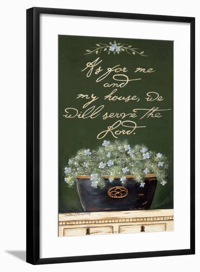 As for Me and My House-Jo Moulton-Framed Art Print