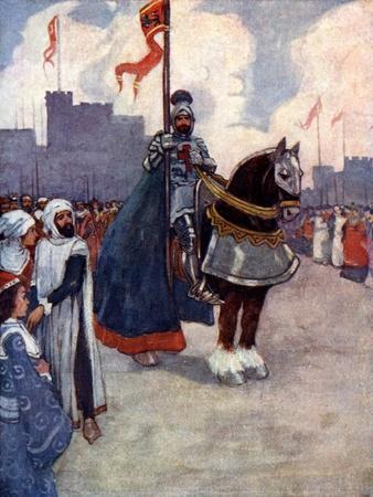 Richard Went Away to Palestine, 1190