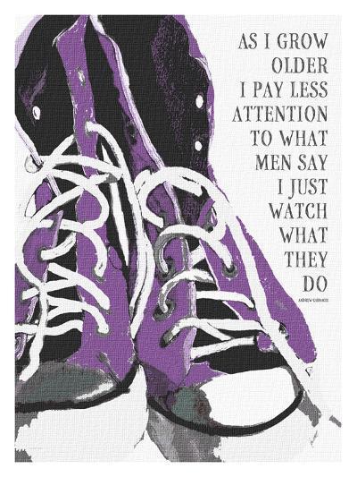 As I Grow Older (Purple)-Lisa Weedn-Giclee Print