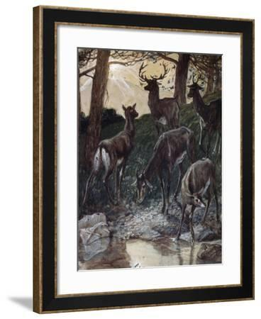 As Pants the Hart-James Jacques Joseph Tissot-Framed Giclee Print