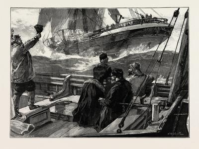 As the Clipper Stormed Past-William Heysham Overend-Giclee Print