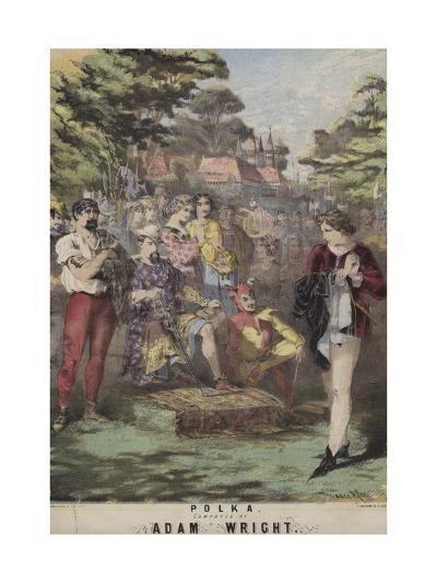 As You Like It, Polka, Adam Wright-Alfred Concanen-Giclee Print