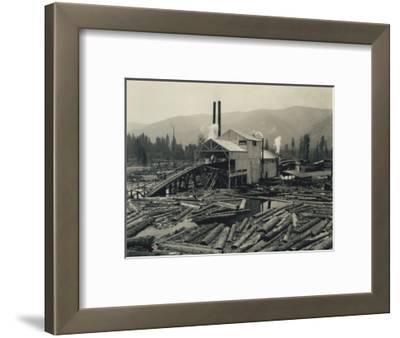 Logging Mill, Circa 1929
