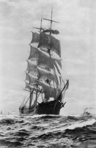 M.P. Grace (Sailing Ship) by Asahel Curtis