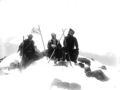 Mount Adams Summit, Circa 1901