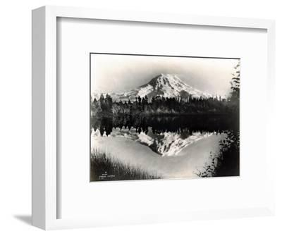 Mount Rainier From Spanaway Lake, 1922