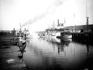Olympia Harbor, Circa 1910 by Asahel Curtis