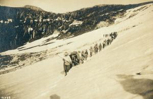 Party of Women Mountaineers in the North Cascades, Circa 1909 by Asahel Curtis