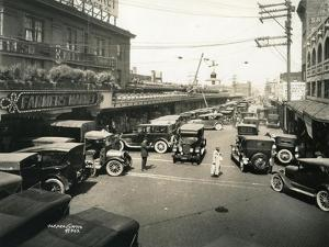 Pike Place Market, Seattle, 1924 by Asahel Curtis