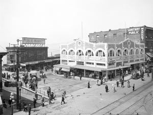 Pike Place Market, Seattle, WA, 1912 by Asahel Curtis