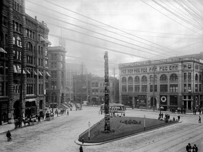 Pioneer Square, Seattle, WA