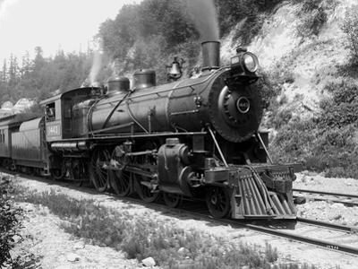 Railroad Locomotive 1443, Circa 1909