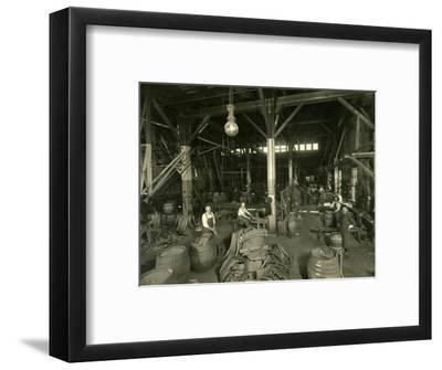 Rainier Brewing and Malting Co., Cooper Shop, 1914