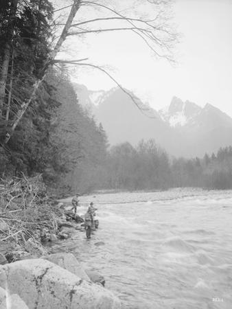Skyskomish River Fishing, 1906