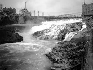 Spokane Falls, 1911 by Asahel Curtis