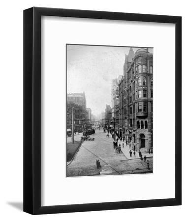 Streetscene, Seattle, Circa 1900