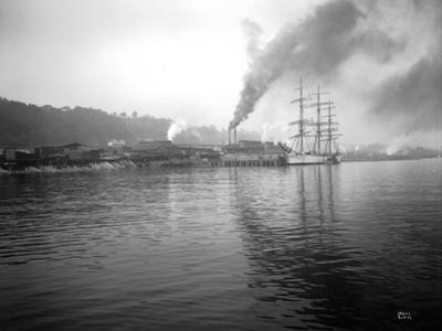 Tacoma Waterfront, 1915