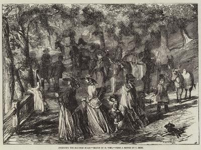 Ascending the Malvern Hills-Harrison William Weir-Giclee Print