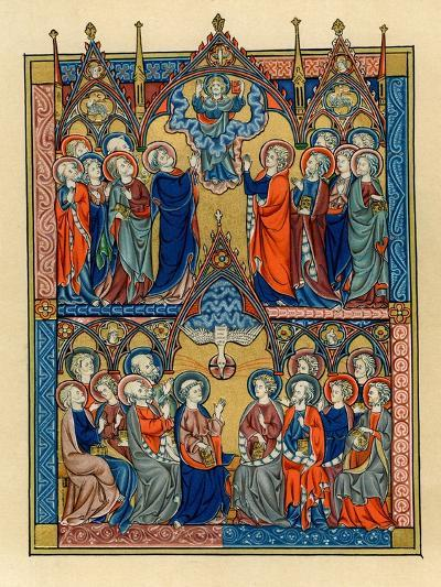 Ascension and Pentecost, 1290-1300--Giclee Print