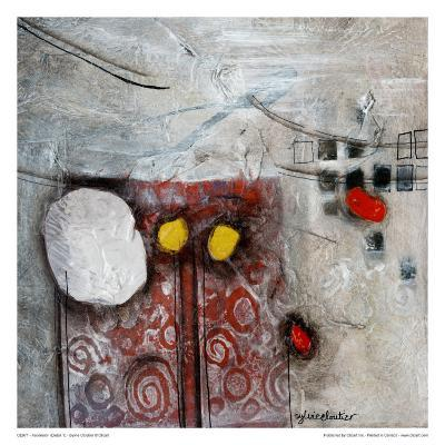 Ascension (Détail 1)-Sylvie Cloutier-Art Print