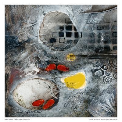 Ascension (Détail 2)-Sylvie Cloutier-Art Print