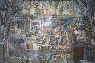 Ascent to Calvary, Upper Church of Sacro Speco Monastery--Giclee Print