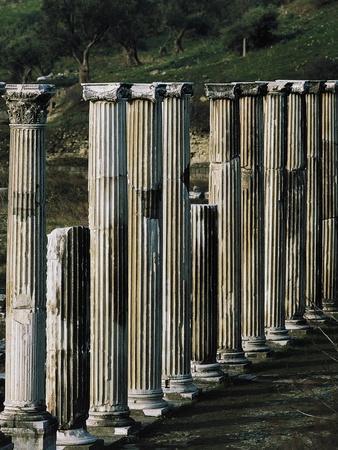 Ascleplieion, Pergamon, Turkey AD--Giclee Print