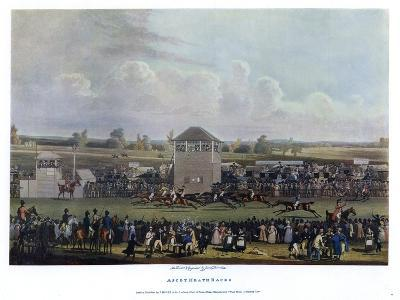 Ascot Heath Races-James Pollard-Giclee Print
