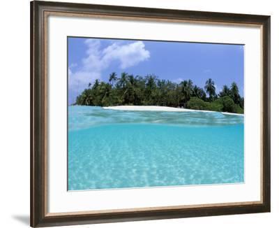 Asdu Island, North Male Atoll, Maldives, Indian Ocean-Sergio Pitamitz-Framed Photographic Print