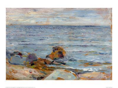 Asgardstrand-Edvard Munch-Giclee Print