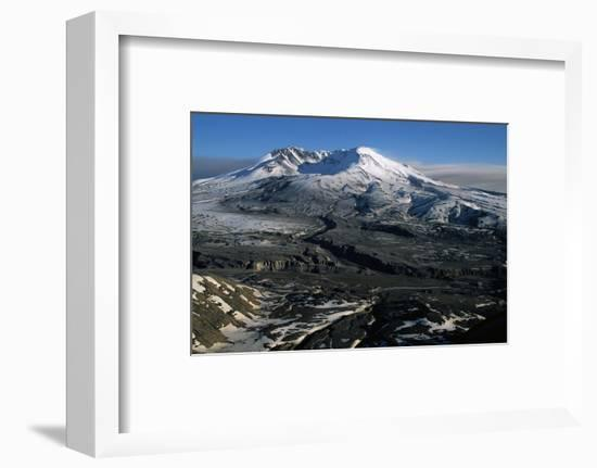 Ash Filled Valley Near Mount St. Helens-Paul Souders-Framed Photographic Print