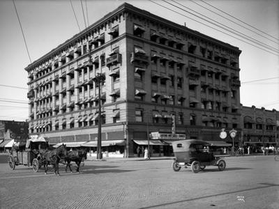 Miller Building, North Yakima, WA, 1915