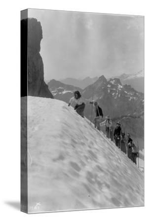 Mountaineers in the North Cascades, ca. 1909