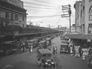 Pike Place Market, Seattle, WA, 1931 by Ashael Curtis