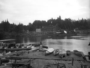 Shilshole Bay, Seattle, 1912 by Ashael Curtis