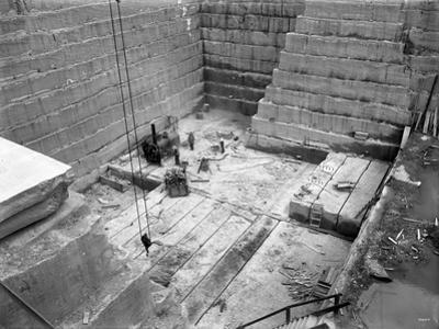 Tenino Sandstone Quarry, 1909