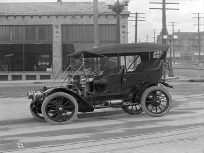 Vintage Automobile, Seattle, 1915