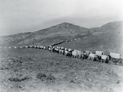 Wagon Train - Oregon Trail Wagon Train Reenactment, 1935