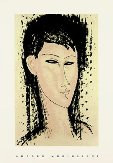 Ashanti-Amedeo Modigliani-Serigraph