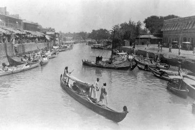 Ashar Creek, Basra, Iraq, 1917--Giclee Print