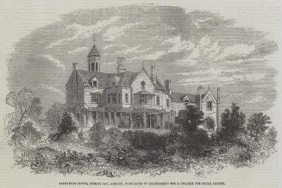 Ashburton House, Stoke's Bay, Gosport, Purchased by Government for a College for Naval Cadets--Giclee Print