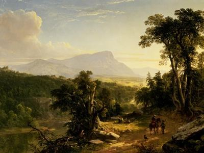 Landscape-Composition: in the Catskills, 1848 by Asher Brown Durand