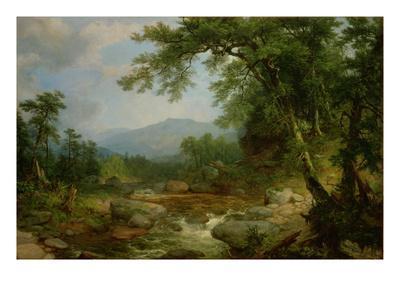 Monument Mountain, Berkshires, 1855-60