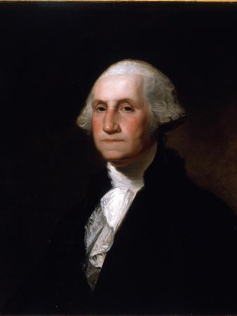 Portrait of George Washington, after a Painting by Gilbert Stuart (1755-1828) (See 149687 for Pair)