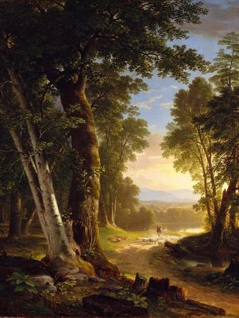 The Beeches, 1845