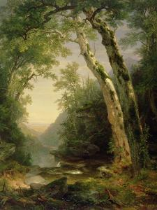 The Catskills, 1859 by Asher Brown Durand