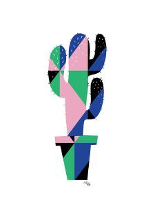 Geometric Cactus by Ashlee Rae